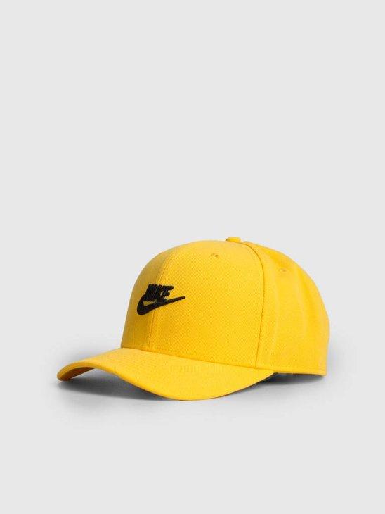 Nike Sportswear Clc99 Cap Fut Snapback Amarillo Black Av6720-728