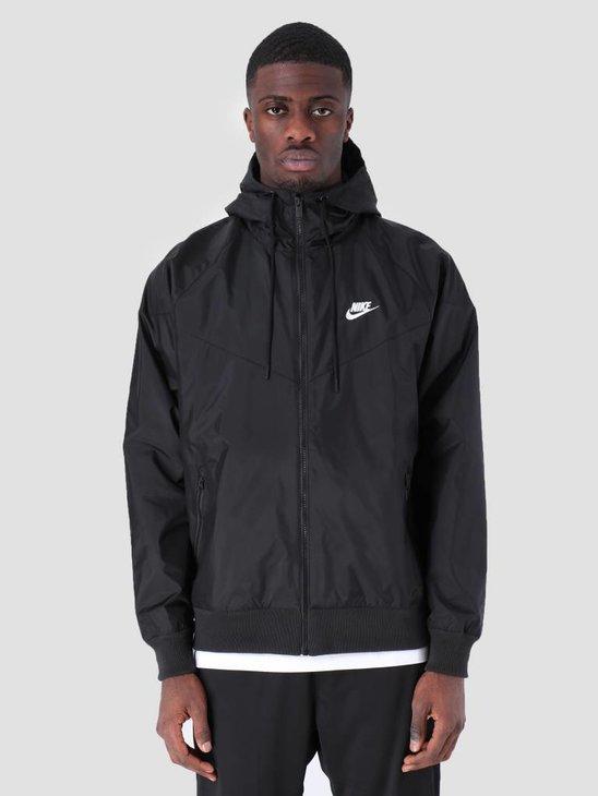Nike Sportswear Windrunner Black Black Black Sail Ar2191-010