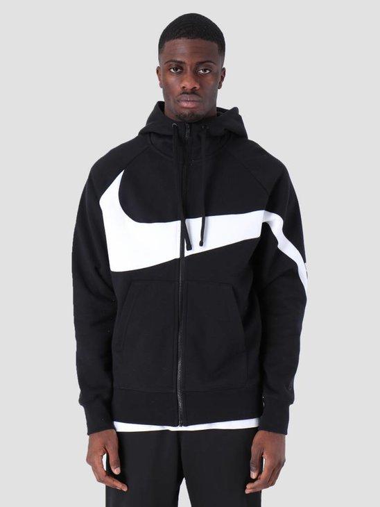 Nike Sportswear Hoodie Black White Black Black Bq6458-010