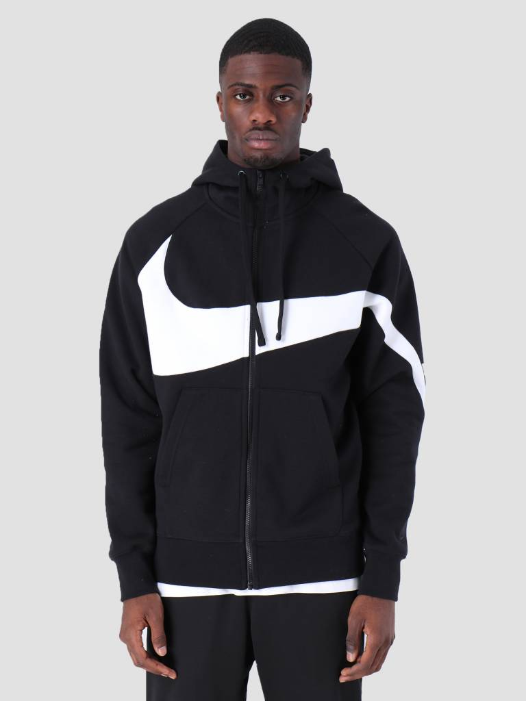 low priced 510c2 b2676 Nike Nike Sportswear Hoodie Black White Black Black Bq6458-010