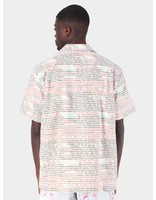 Daily Paper Daily Paper Fetrans Shirt Aop Encrypted White 19S1SH08-01
