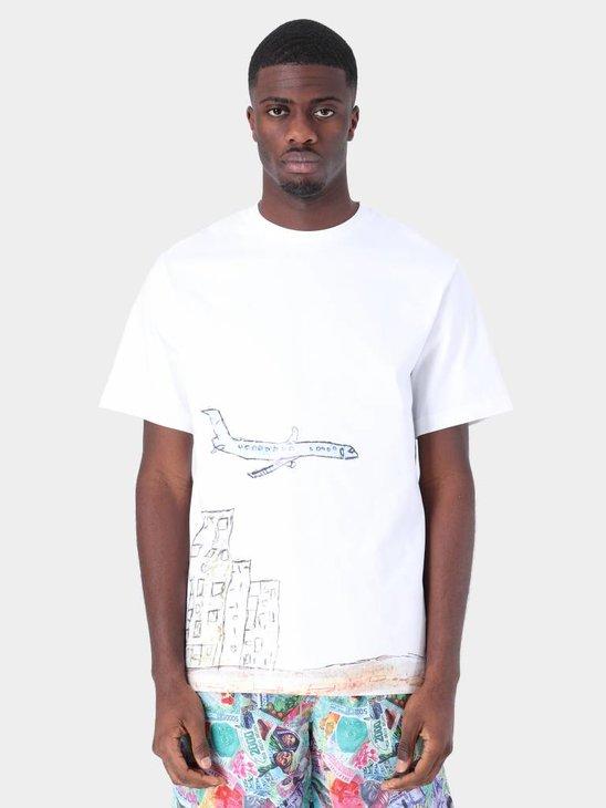 Daily Paper Fadwa 2 T-Shirt White 19S1TS15-02