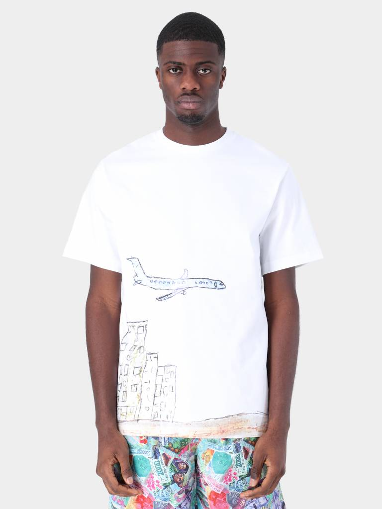 Daily Paper Daily Paper Fadwa 2 T-Shirt White 19S1TS15-02
