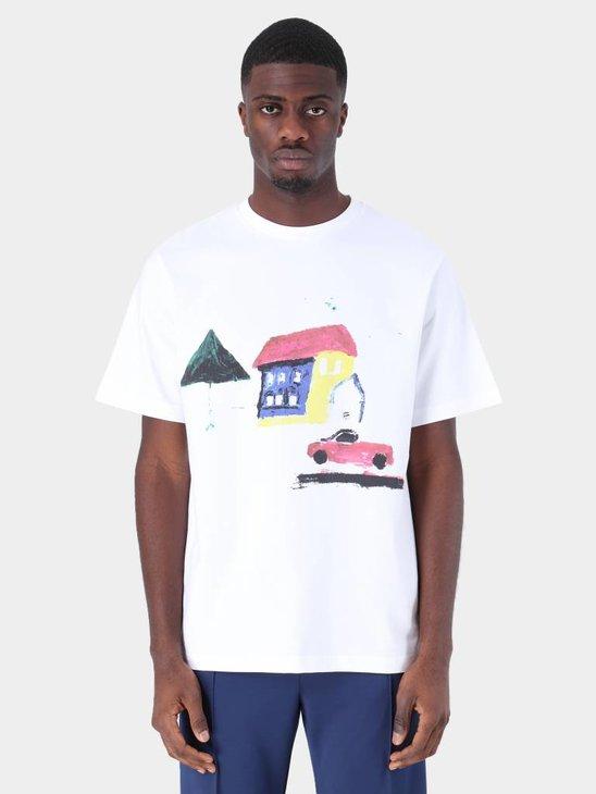 Daily Paper Fadwa 3 T-Shirt White 19S1TS15-03