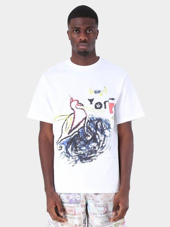 Daily Paper Fadwa 5 T-Shirt White 19S1TS15-05
