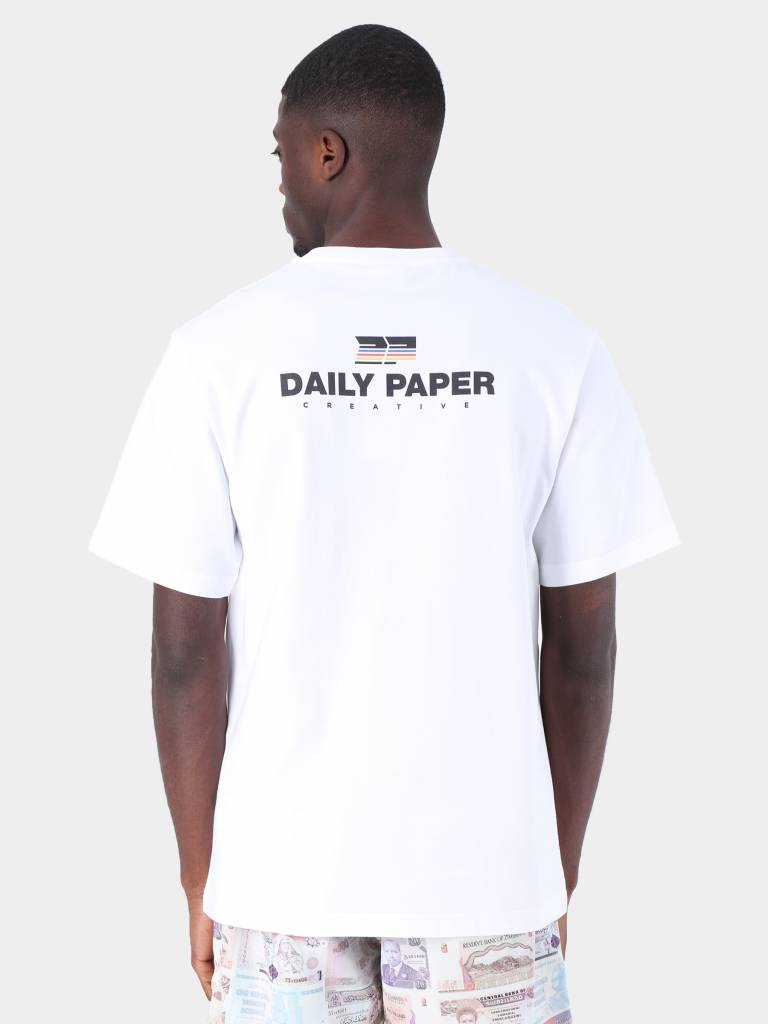 Daily Paper Daily Paper Fadwa 5 T-Shirt White 19S1TS15-05