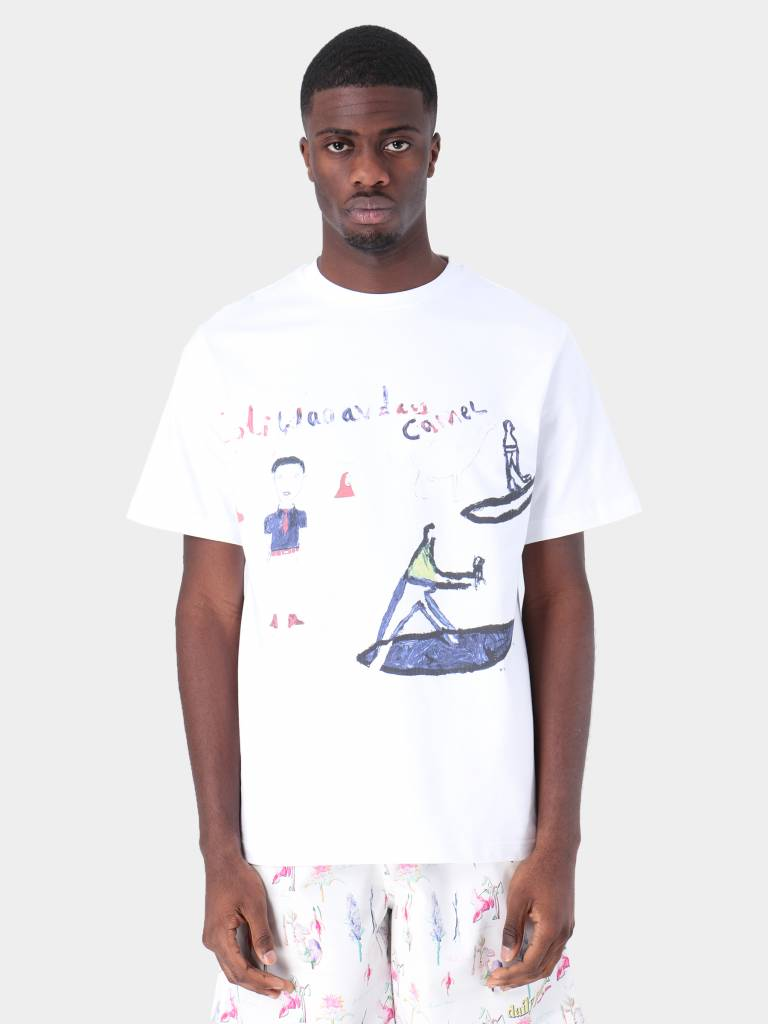 Daily Paper Daily Paper Fadwa 7 T-Shirt White 19S1TS15-07
