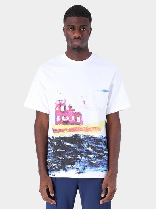 Daily Paper Fadwa 8 T-Shirt White 19S1TS15-08