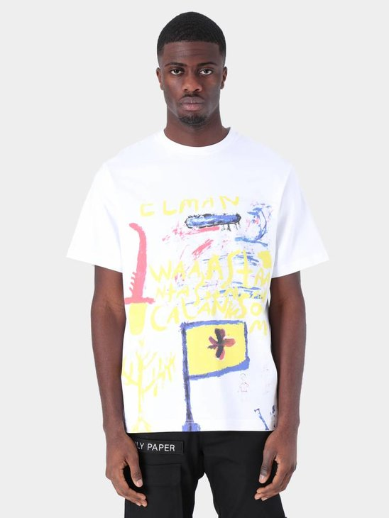Daily Paper Fadwa 9 T-Shirt White 19S1TS15-09