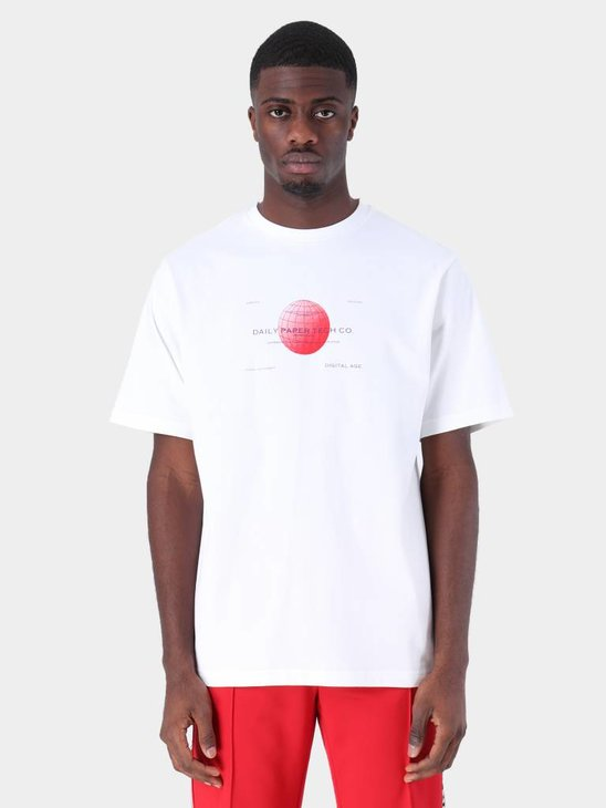 Daily Paper Fitech T-Shirt White 19S1TS11-01
