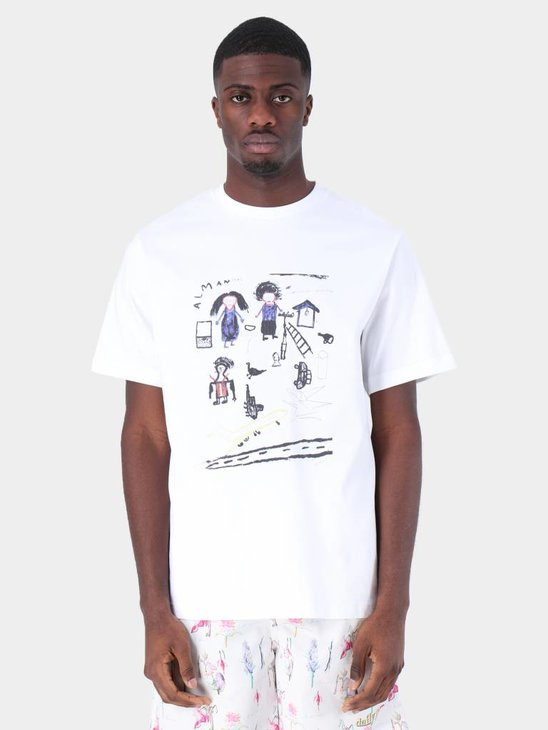 Daily Paper Fadwa 4 T-Shirt White 19S1TS15-04