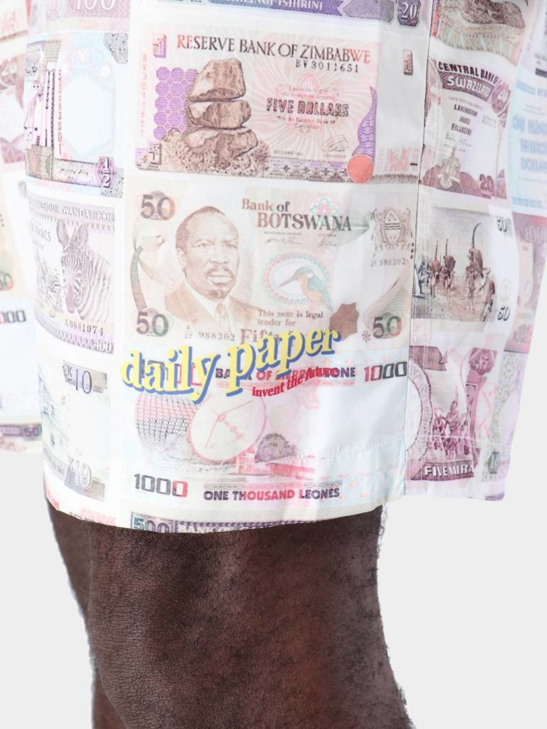Daily Paper Daily Paper Fali Short Aop Money 19S1ST01-02