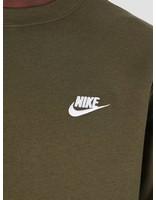 Nike Nike NSW Crew Sweater Olive Canvas  White 804340-395
