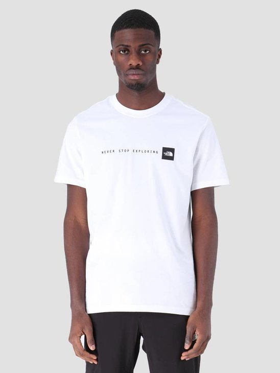 The North Face Nse T-Shirt TNFwhite Black T92TX4LA9