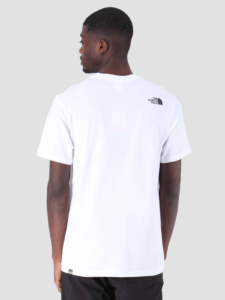 The North Face The North Face Nse T-Shirt TNFwhite Black T92TX4LA9