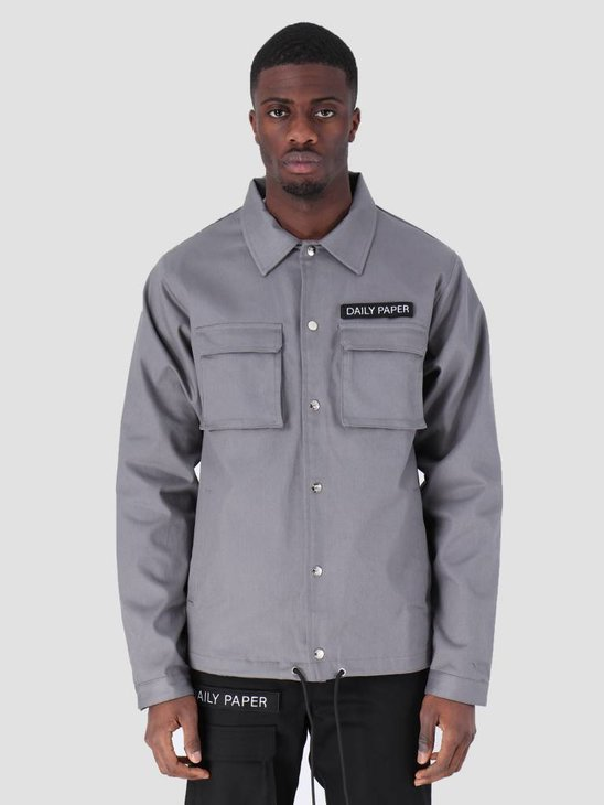 Daily Paper Coach Jacket Grey 00N1PA05-05