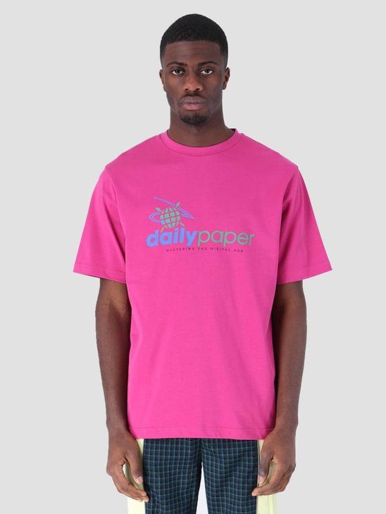Daily Paper Faisel T-Shirt Hot Pink 19S1TS14-01