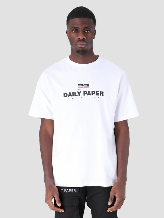 Daily Paper Farr T-Shirt White 19S1TS17-01