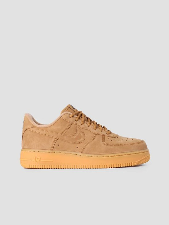 Nike Air Force 1 '07 Wb Shoe Flax Flax Gum Light Brown Outdoor Green Aa4061-200