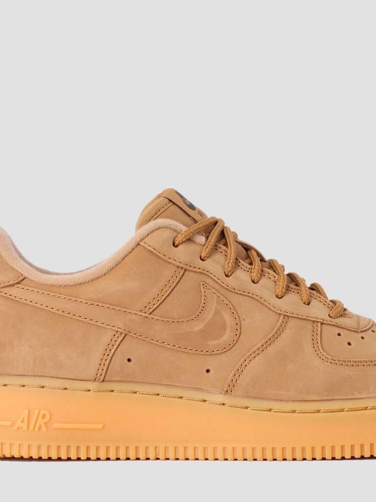 Nike Nike Air Force 1  07 Wb Shoe Flax Flax Gum Light Brown Outdoor Green d667ea9f2