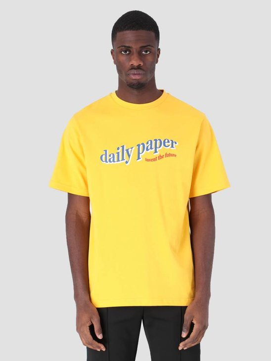 Daily Paper Fellen T-Shirt Yellow 19S1TS13-01