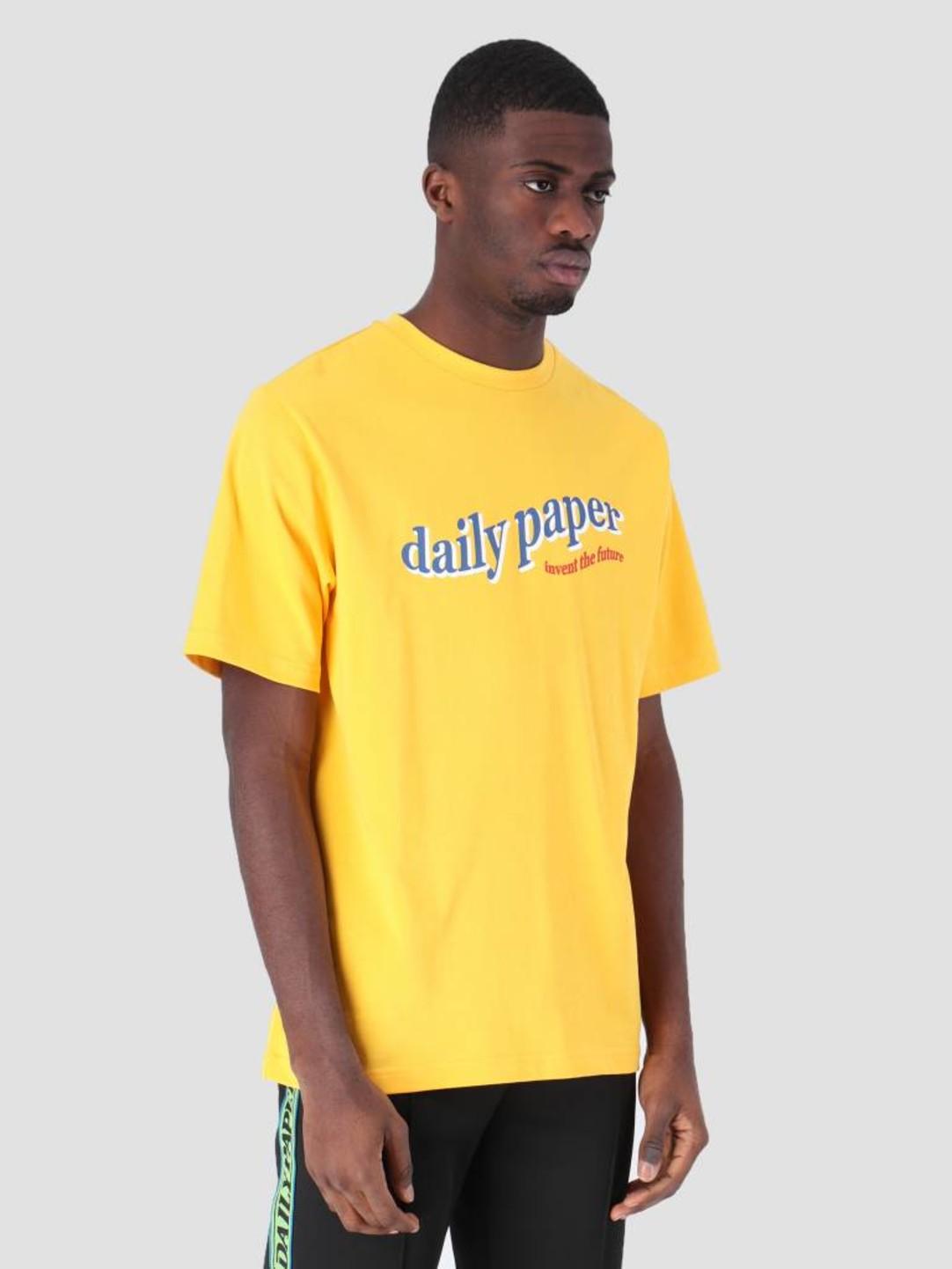Daily Paper Daily Paper Fellen T-Shirt Yellow 19S1TS13-01
