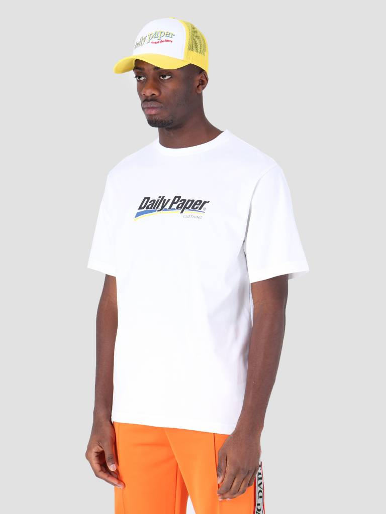Daily Paper Daily Paper Fenno T-Shirt White 19S1TS14-02