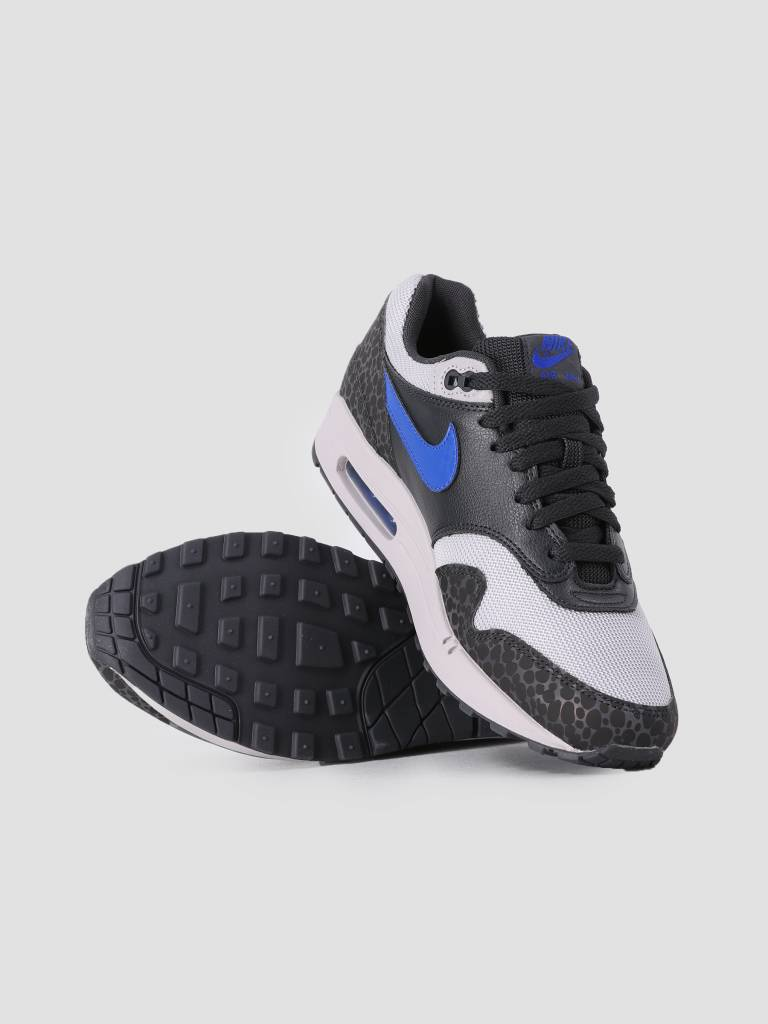 quite nice d671c 1c212 Nike Nike Air Max 1 SE Reflective Off Noir Hyper Blue Atmosphere Grey  Bq6521-001
