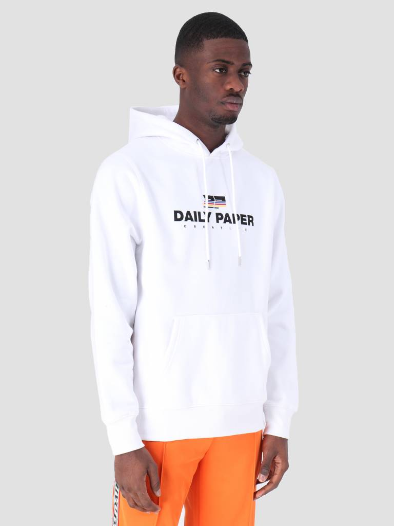 Daily Paper Daily Paper Faber Hoodie White 19S1HD06-01