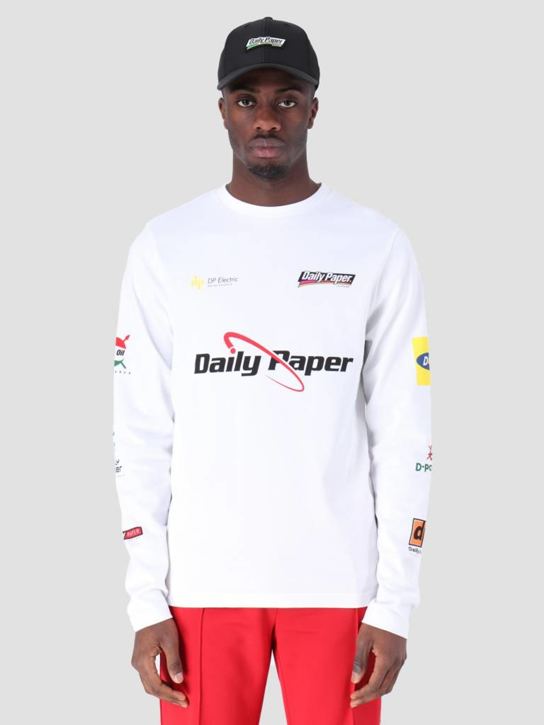 Daily Paper Daily Paper Feff Longsleeve White 19S1LS05-01
