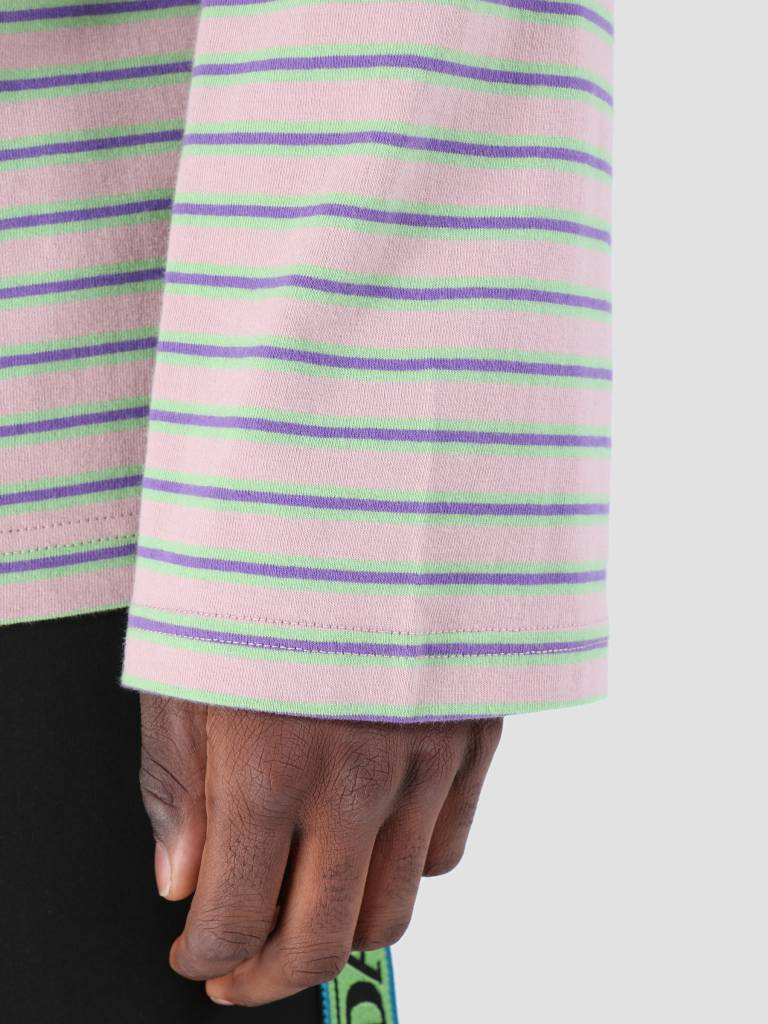 Daily Paper Daily Paper Fong 1 Longsleeve Old Pink Light Green Purple 19S1LS02-01