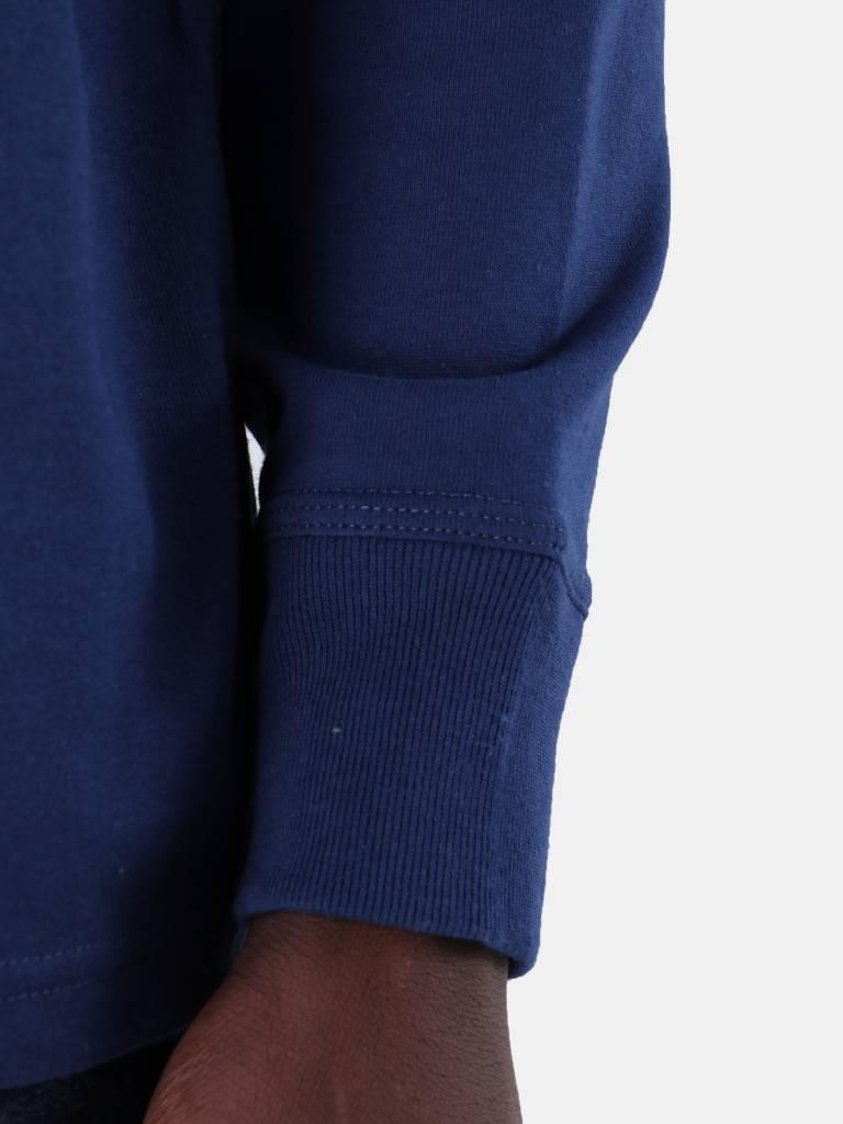Carhartt WIP Carhartt WIP Longsleeve American Script T-Shirt Metro Blue I025712