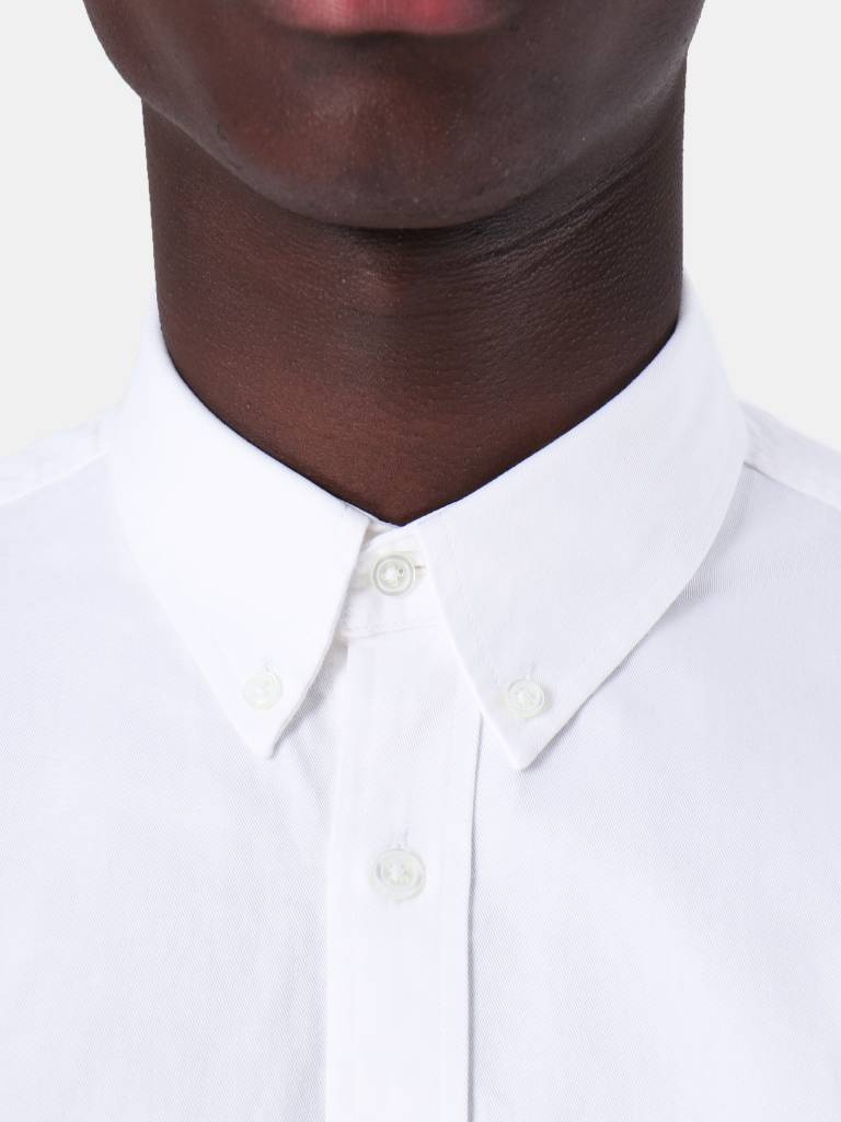 Carhartt WIP Carhartt WIP Longsleeve Madison Shirt White Navy I023339