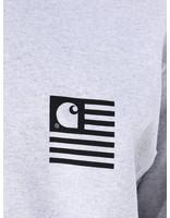 Carhartt WIP Carhartt WIP Longsleeve State Patch T-Shirt Ash Heather I026410