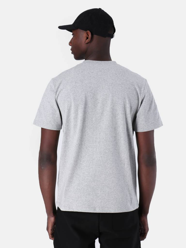 Carhartt WIP Carhartt WIP College Script T-Shirt Grey Heather White I024806