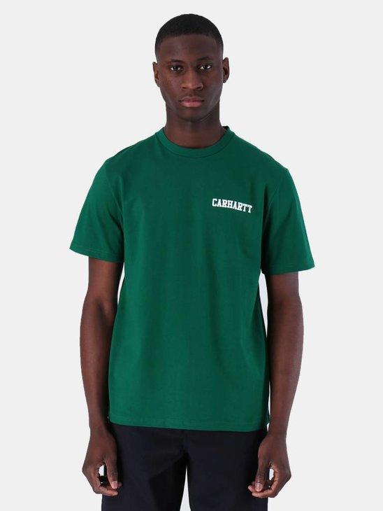 Carhartt College Script T-Shirt Dragon White I024806