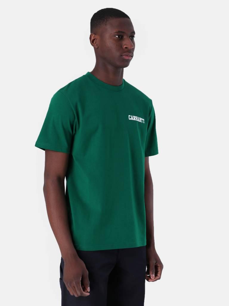 Carhartt WIP Carhartt WIP College Script T-Shirt Dragon White I024806