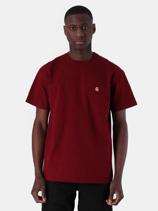 Carhartt Chase T-Shirt Cranberry Gold I026391