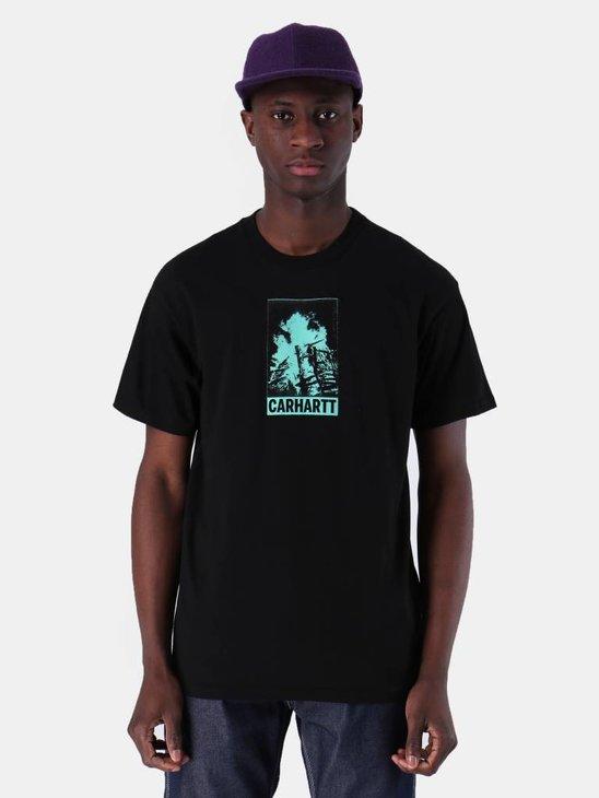 Carhartt WIP Campfire T-Shirt Black I026425