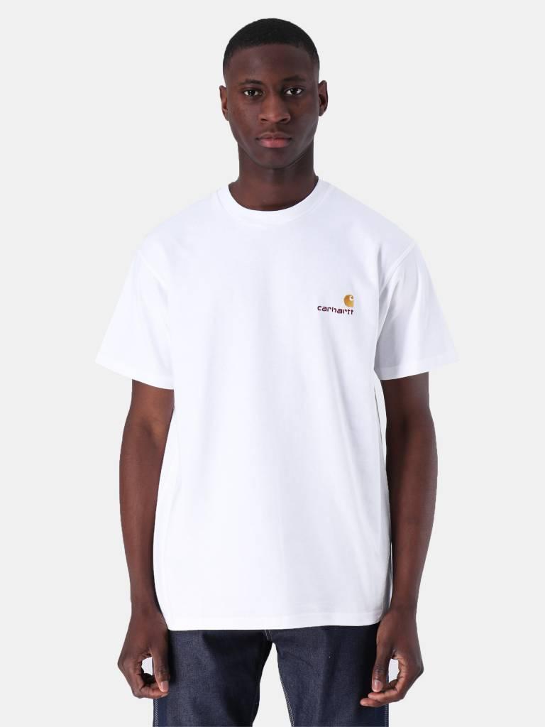 Carhartt WIP Carhartt WIP American Script T-Shirt White I025711-200