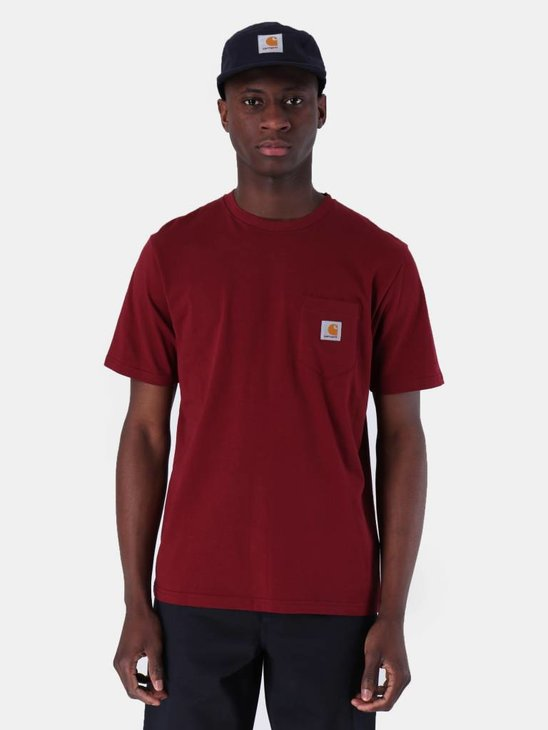 Carhartt WIP Pocket T-Shirt Cranberry I022091