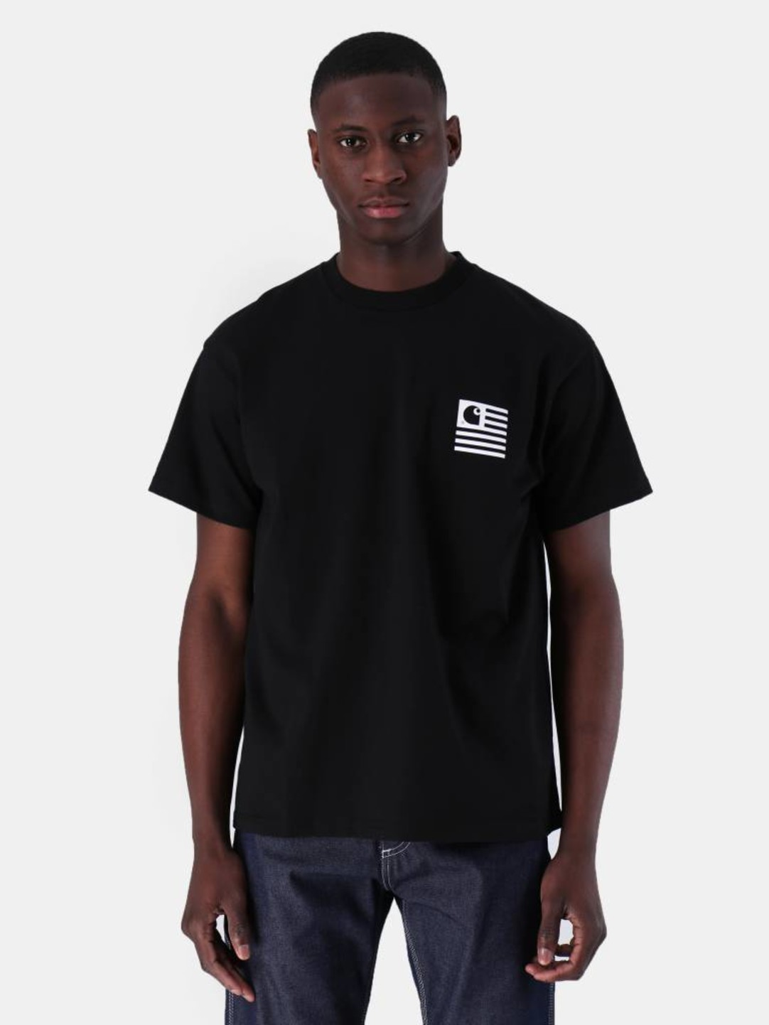 Carhartt WIP Carhartt WIP State Patch T-Shirt Black I026409