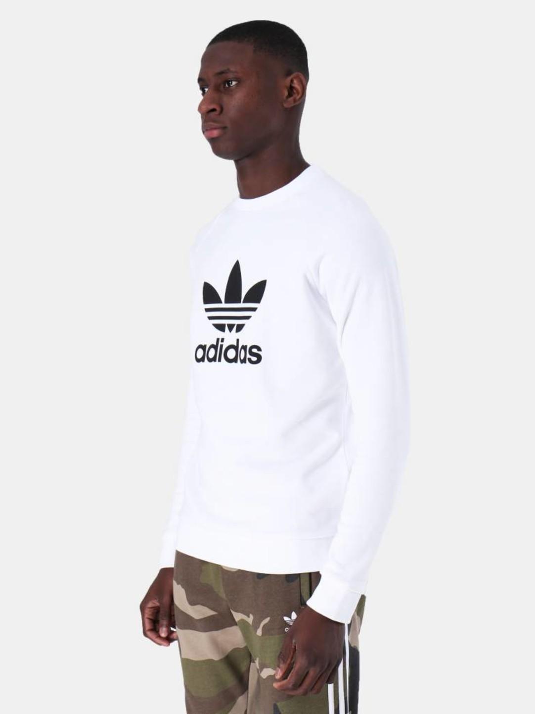 adidas adidas Trefoil Crew White DV1544
