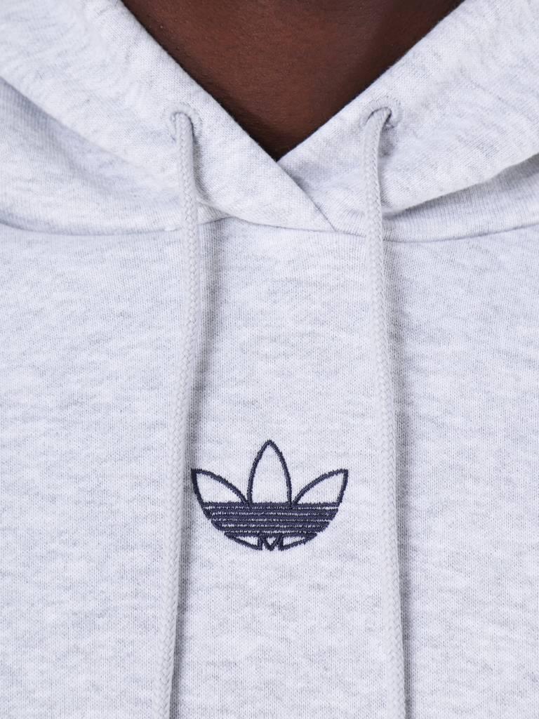 adidas adidas Ft Bball Hoody Lgreyh Conavy DV3255