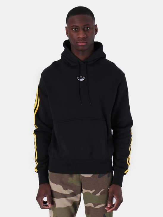 adidas Ft Bball Hoody Black Bogold DV3257