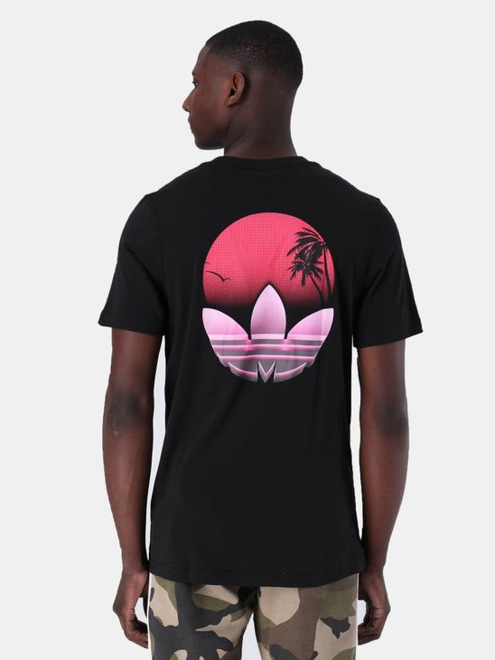 adidas Tropical T-Shirt Black DV2057