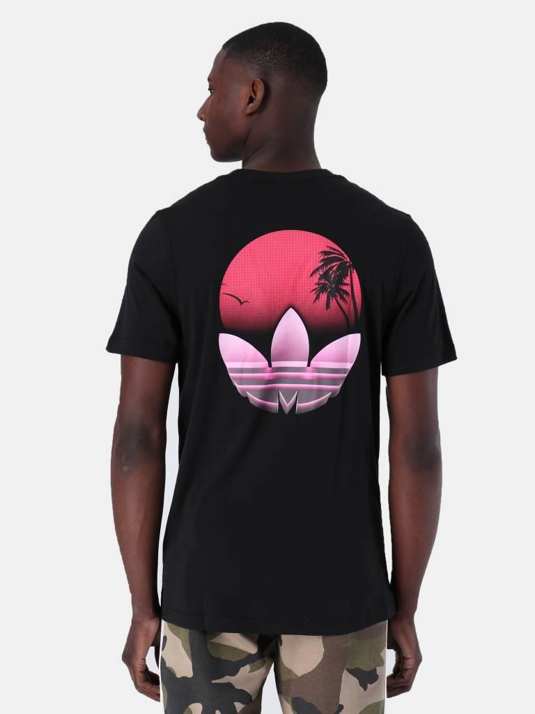 adidas adidas Tropical T-Shirt Black DV2057