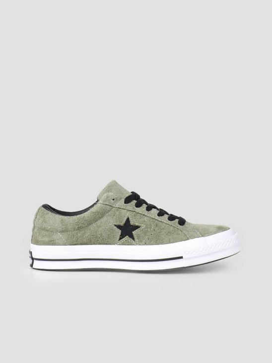 Converse One Star Ox Field Surplus Black White 163249C