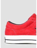 Converse Converse One Star Ox Enamel Red Black White 163246C