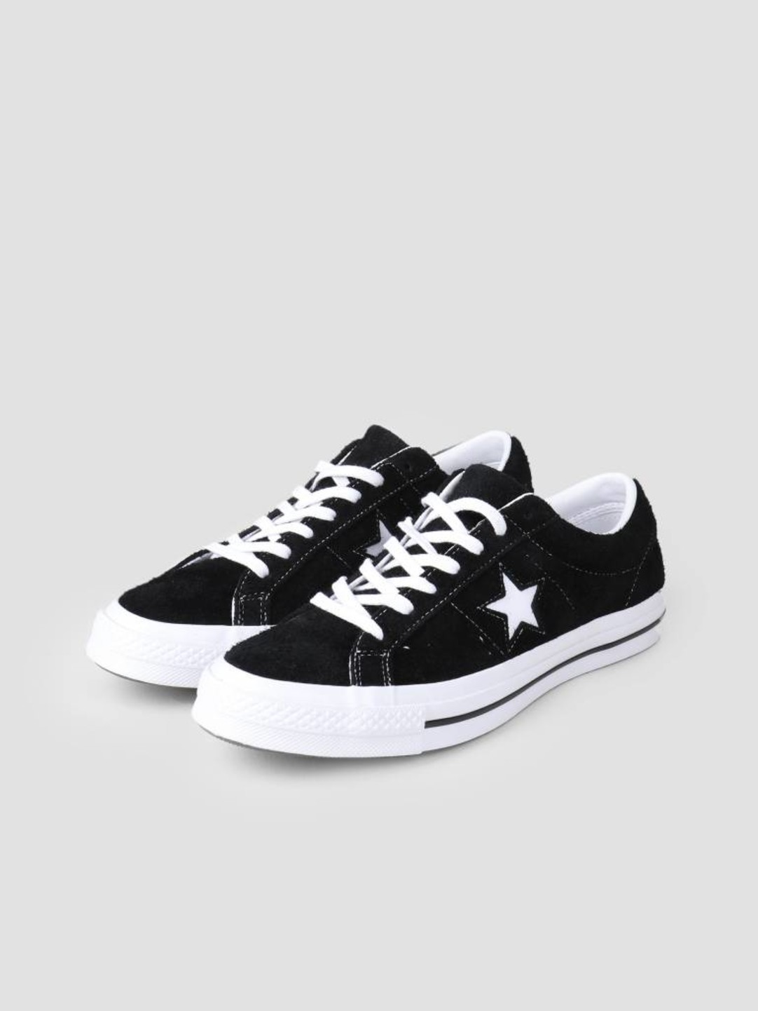Converse Converse One Star OX Black White White 158369C